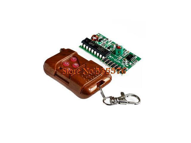 5set/lot IC 2262/2272 4 CH 315Mhz Key Wireless Remote Control Kits Receiver  module For arduino - Newegg com