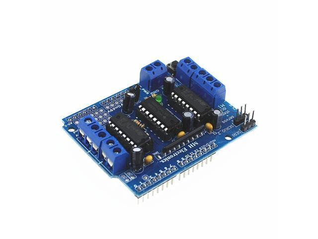 5Pcs/lot Motor-driven expansion board L293D motor control shield for  arduino - Newegg com