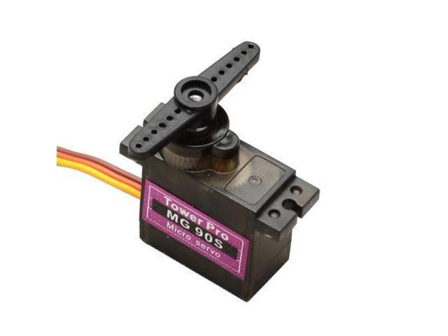 1Pcs MG90S Metal Geared Micro Tower Pro Servo for Car Plane Helicopter  Module - Newegg com
