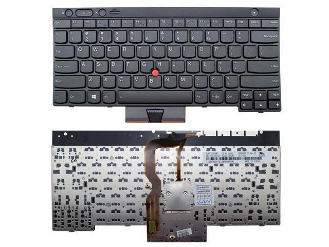 Replacement Laptop Keyboard NON-Backlit for IBM Lenovo Thinkpad T530 T530i  W530 T430 T430s T430i X230 X230i PN:04X1315 04X1333 04W3025 US layout Black