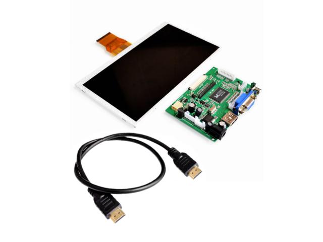 7 inch Raspberry Pi 3 TN LCD With HDMI VGA AV Screen Display