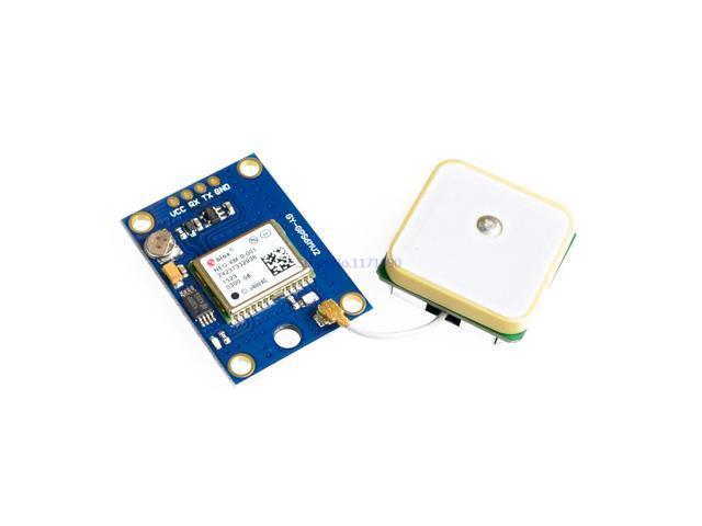 NEO-6M Ublox/u-blox GPS Module for MWC/AeroQuad Flight Control Board -  Newegg com
