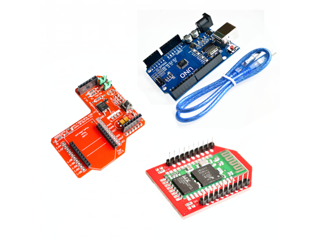 UNO R3 XBee Zigbee Shield RF module Bluetooth wireless HC-06 (red) for  arduino - Newegg com