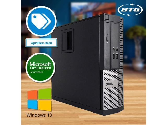 Dell Optiplex 3020 Intel Quad-Core i5 (3.3GHz), 8GB RAM, 2TB HDD, DVD, Windows 10 Professional, WiFi
