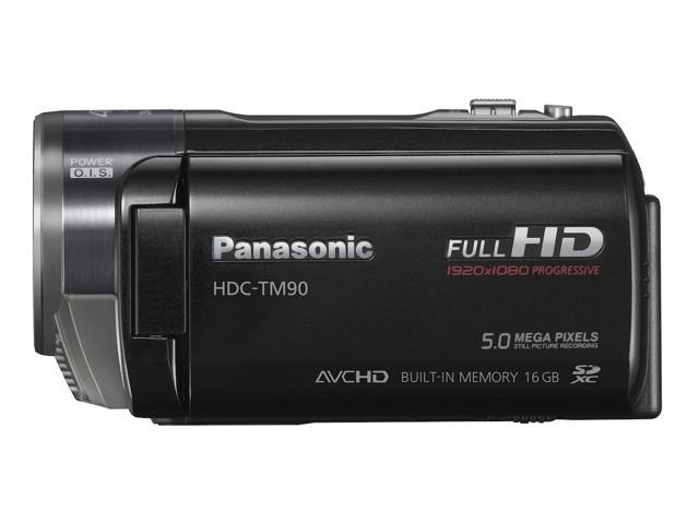 refurbished panasonic hdc tm90 3d compatible camcorder black rh newegg ca Manual Panasonic Radio Panasonic TV Manual