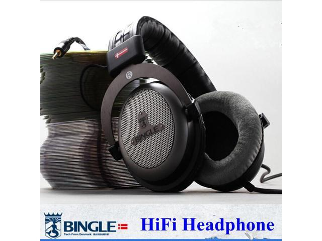 2d1a77ba0649eb Bingle B-910-M Over-Head Headphones Studio Monitor Headphone Hifi Stereo DJ