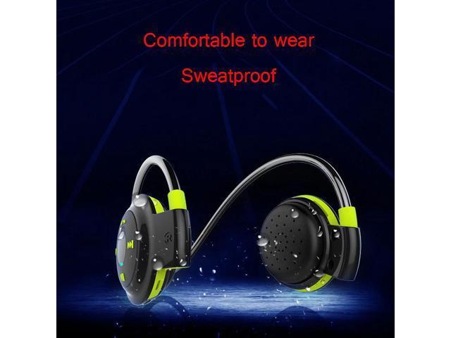 d227162e62c PLUFY Bluetooth Wireless Headset TF Card Sport Headphones Earplugs Music Sport  Earphone Noise Cancelling Earphones For