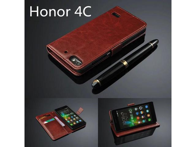 finest selection c2721 ec140 Honor 4C card holder cover case for Huawei Honor 4C leather phone case  ultra thin wallet flip cover - Newegg.com