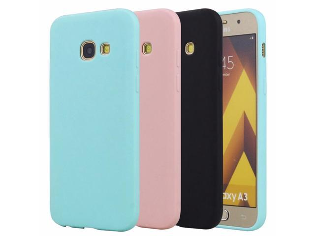 new concept 604d1 4f90d Rubber TPU Silicone Back Cover Case For Samsung Galaxy A3 2016 2017 Candy  Color Soft TPU Phone Case For Samsung A3 2016 Case - Newegg.com