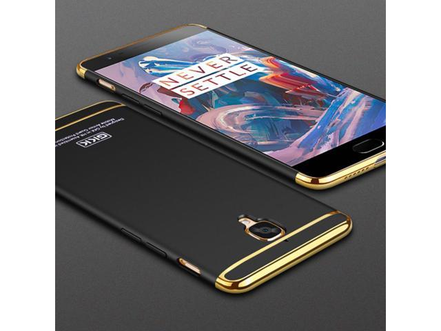 huge discount 5fed6 77974 GKK One Plus 3 Eectroplated 3 in 1 Phone Case for OnePlus 3T 3 Case A3000  Three Hard Fundas OnePlus3 T Coque Phone Cases Cover - Newegg.com
