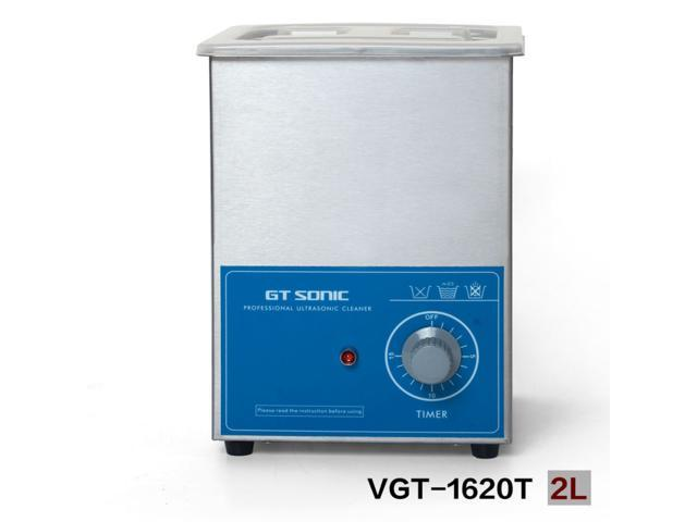 2L ultrasonic washing machine with timer GT SONIC VGT-1620T brush watch  jewelry eyeglasses cleaner - Newegg com