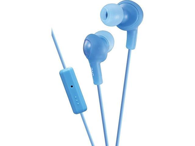 aa3dc48f4d9 JVC Gumy Plus In-Ear Headphones with Microphone, iPhone Compatible, Slim  Plug Built