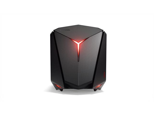 Lenovo ideacentre Y720 Cube -15ish Gaming Tower Desktop Computer (Intel Core i5-7400 3.0Ghz, AMD Radeon RX 480 4GB, 8GB, 1TB, Windows 10 Home) Grade A