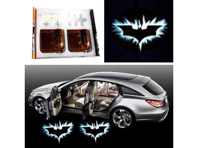 Car Logo Ghost Shadow Emblems Lights Wireless Door Sensor Lights