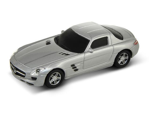 Autodrive Mercedes Benz Sls Amg 32gb Usb Flash Drive Silver Newegg Com