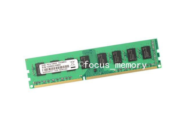 2GB DDR3-1333MHz 240Pin PC3-10600 Dimm For AMD Chipset Desktop Memory -  Newegg com