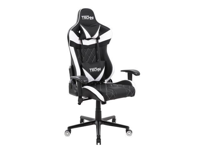 Gaming Chair Techni Sport Ts Xl1 Black W White