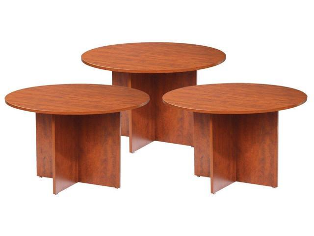 GOF Office Round Conference Table Inch Cherry Pieces - 42 inch round office table