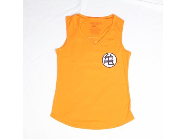 Dragon Ball Z Goku Kame Symbol Orange Tank Top Newegg