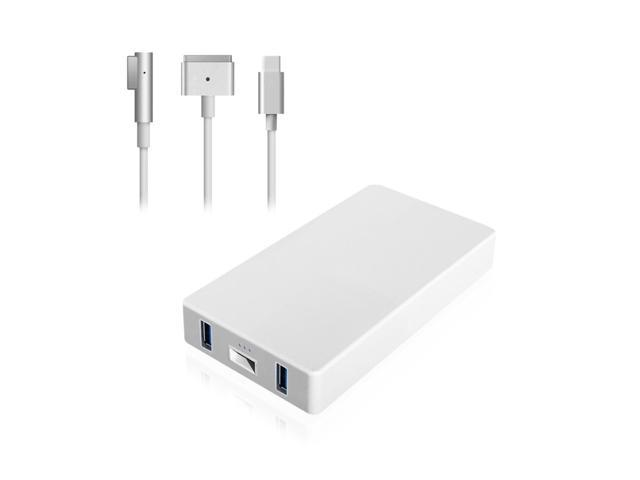 Abyone MAC65 65W Power Adapter Charger With Dual USB For Apple MacBook Pro Air