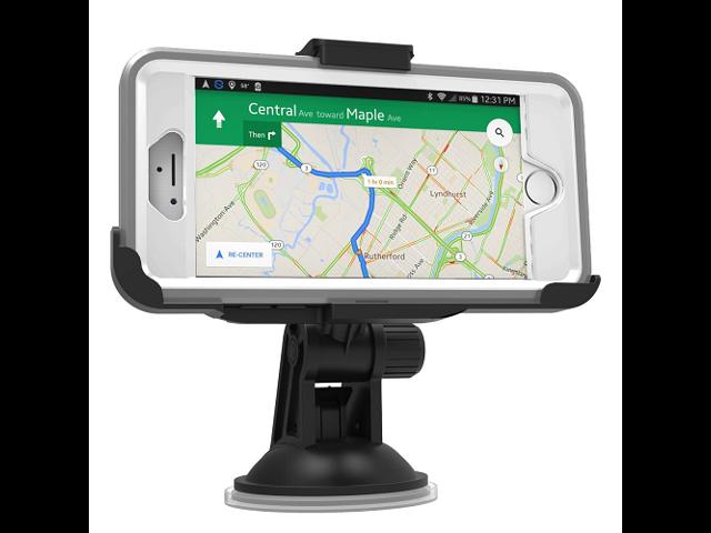 online store b1d22 b04bd iPhone 6 OtterBox Defender Case Easy-Dock Car Mount Holder (windshield /  dashboard compatible) By Encased - Newegg.com