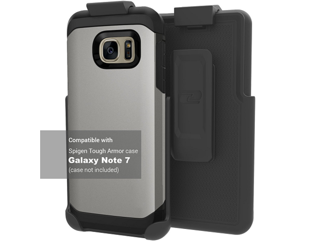 sports shoes d3a01 c5a98 Belt Clip Holster for Spigen Tough Armor Case - Samsung Galaxy Note 7 (By  Encased) (case is not included) - Newegg.com