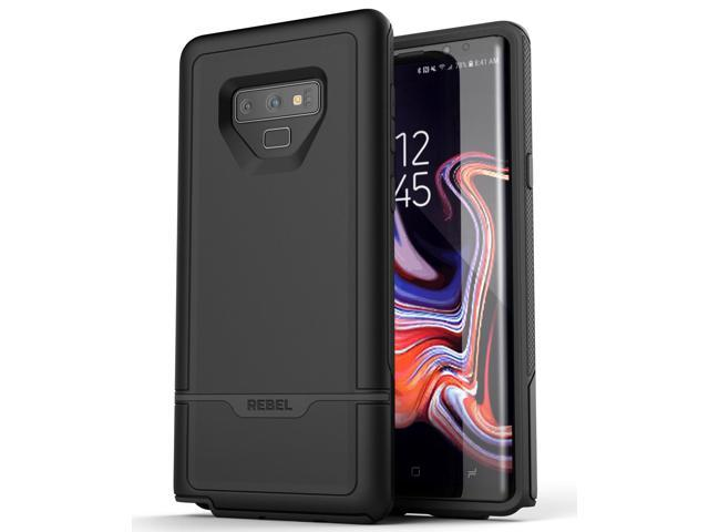 cheap for discount 90a03 505e3 Encased Heavy Duty Case for Galaxy Note 9 Phone Case Black, Full Body  Protective Impact Armor with Shock Absorption TPU - Newegg.com