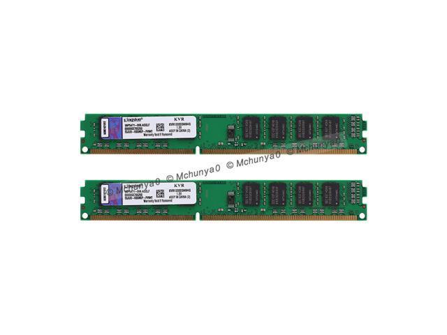 Kingston 8GB (2x 4GB) DDR3-1333MHz PC Desktop Memory PC3-10600 DIMM RAM  1 5V - Newegg ca