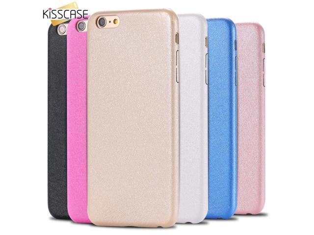 newest 80ca1 77b11 KISSCASE Silk PU Leather Case For iPhone 7 7 Plus 6 6S Plus se 5 s Case  Waterproof Phone Cover Coque For Apple iPhone 6 6S Cases - Newegg.com