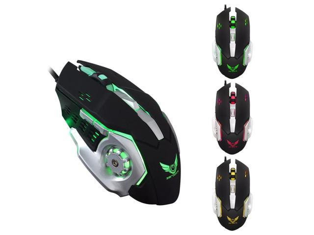 d31f55729bf 32000 DPI Gaming Mouse 6 Buttons LED Optical USB Wired Mice For Pro Gamer  PC Laptop