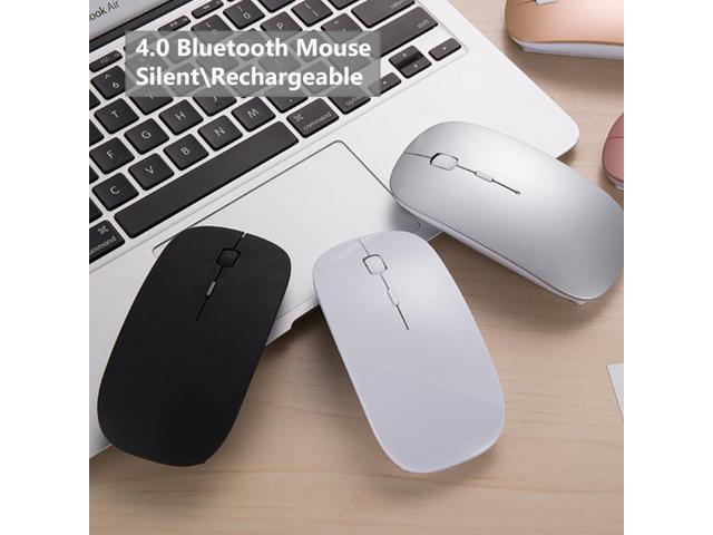 ff6ff8e0488 Bluetooth 4.0 Wireless Mouse Mini Rechargeable Computer Mouse for Dell Acer  Hp Asus Mice Optical Silent
