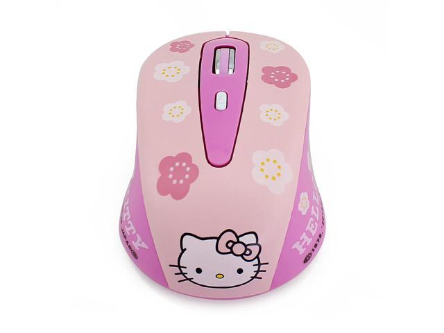 60e2a6aa55c Mouse Wireless Pink Hello Kitty 2.4GHz 1600DPI Wireless Optical Gaming  Mouse Mice sem fio for
