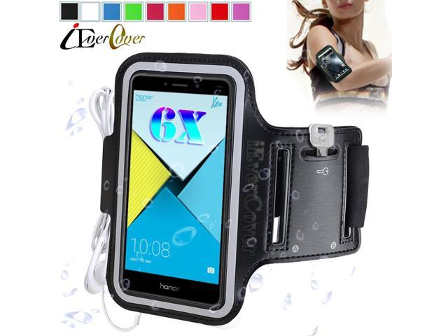 size 40 ca7f6 70fb7 Sport Jogging Arm Band Case for Huawei Y7 Honor 6X / 5X Play / Mate 9 Lite  / G8 G9 Plus Phone Waterproof PU Leather Cover Bag - Newegg.com