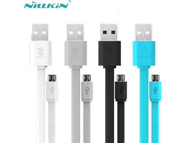 100% Original Nillkin 120cm Flat Micro USB Charging Data Cable 5V 2A Quick Charger Cable For Samsung ASUS Xiaomi Android Devices