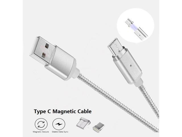 Magnetic USB C Type C Cable Fast Charging Data Cable Type-C USB Charger Cable Andorid For Xiaomi For Huawei Type-C Phones BFYTN