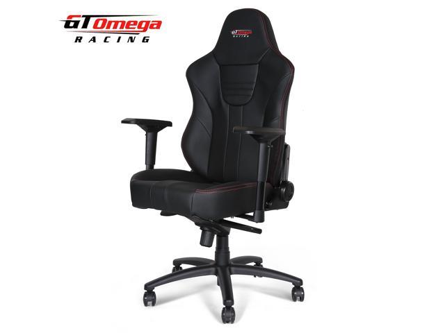 Gt Omega Master Xl Racing Gaming Office Chair Black Leather