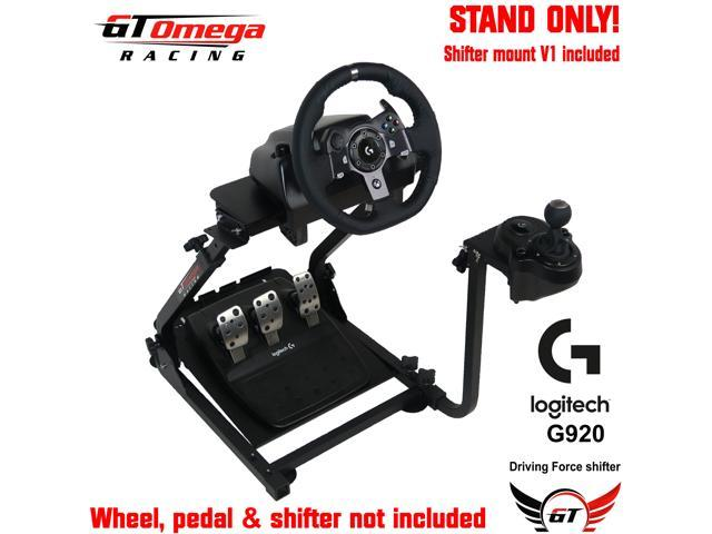 GT Omega Steering Wheel stand PRO suitable For Logitech G920 Driving Force  Racing Wheel and Shifter V1 - Newegg com