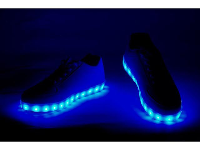 Glowcity Led Light Up Shoes For Night Time Party Events Men S 10 Women S 11 5