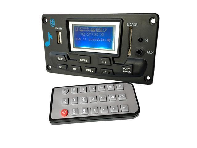 Bluetooth mp decoding board module led lyric v diy usb sd