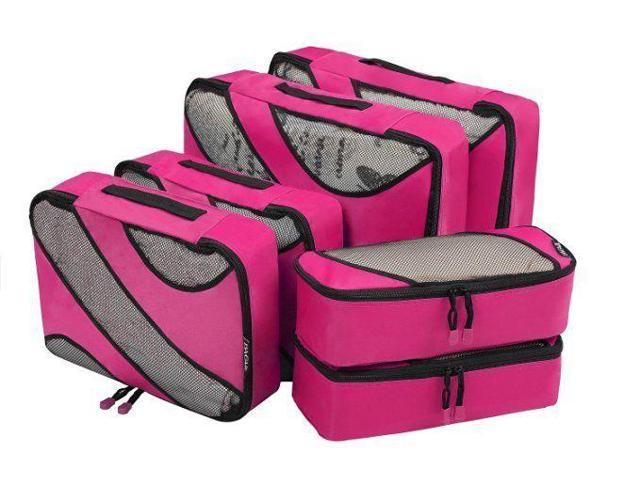 49209094928a Bagail 6 Set Packing Cubes,3 Various Sizes Travel Luggage Packing  Organizers Bag - Newegg.com