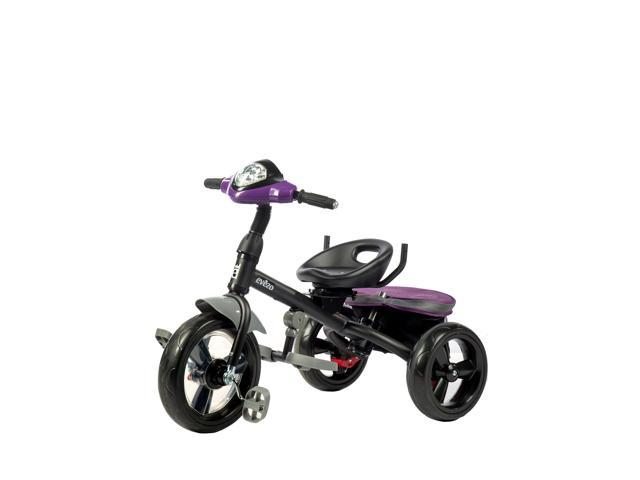 4f9942b452f Evezo 302-70 4-in-1 Parent Push Tricycle for Kids, Reclining Trike,  Convertible