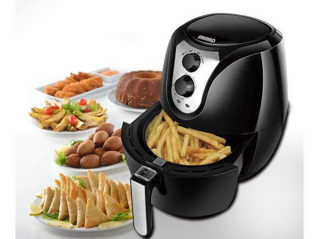 Emerald Air Fryer 1400 Watts with Rapid Air Technology 3.2L Capacity (1801)