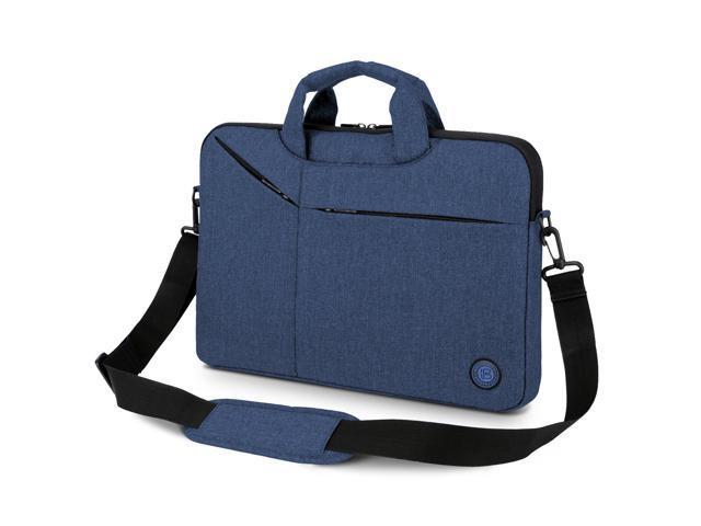 Estone Laptop Messenger Bag 13 14 1 Inch Briefcase For