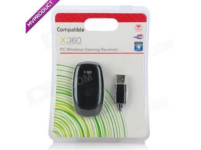 ESTONE Wireless PC USB 2.0 Receiver for Xbox 360 Controller Gaming ...