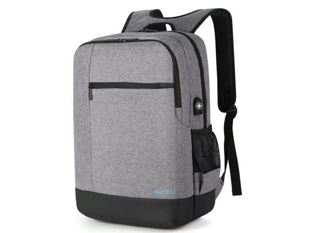 5f7a733009 ESTONE 17.3 inch Laptop Backpack with USB Charging Port