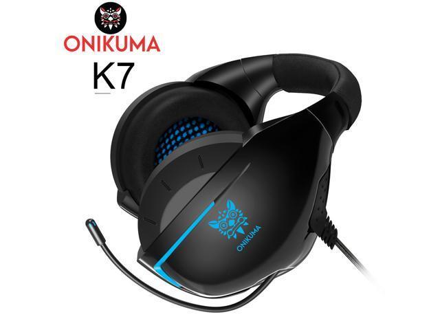 d2ef00ced5c ONIKUMA K7 Casque PS4 Gaming auricular con micrófono con cable PC jugador  auriculares estéreo auriculares para