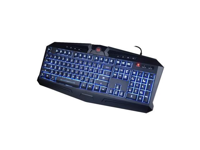 8d6d597fddf Redragon K503 Harpe 7-Color LED Backlit Gaming Keyboard (Black ...