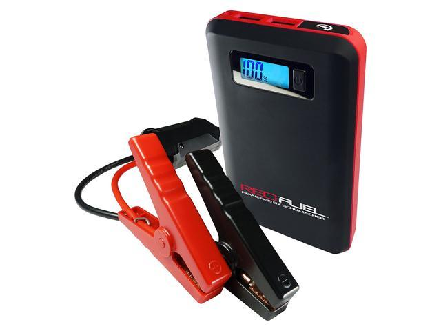 Schumacher SL161 Red Fuel Lithium Ion Multi-function Jump Starter and  Mobile Power - Newegg com