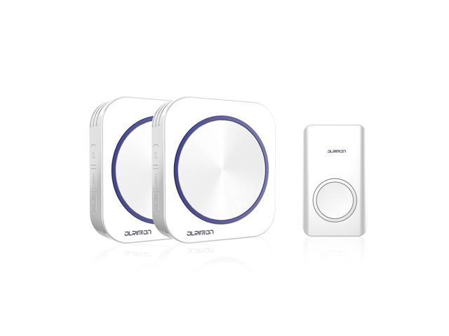 olritron wireless doorbell chime  battery