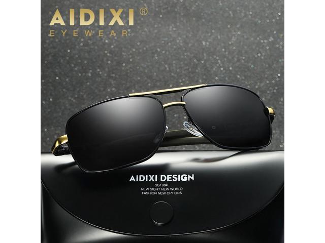 21383e8022 AIDIXI Fashion Men Polaroid Lens HD Polarized Sunglasses ...